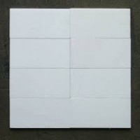 3x6 Thassos White Honed Marble Tile