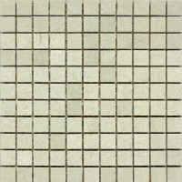 1x1 Seagrass Honed Limestone Mosaic