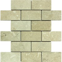 3x6 Seagrass Honed Limestone Tile