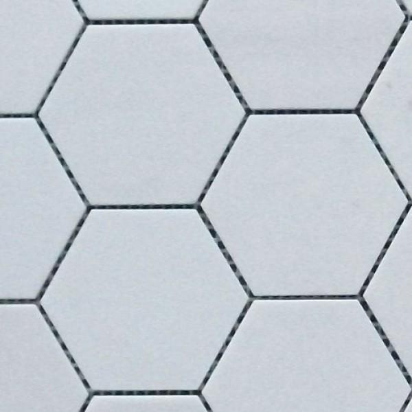 3 inch hexagon template - thassos white marble hexagon honed mosaic 3 inch