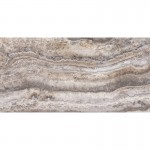 12x24 Silver Vein Cut Polished and Filled Travertine Tile