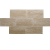 12x24 Ivory Vein Cut Honed and Filled Travertine Tile