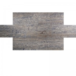 12x24 Silver Vein Cut Honed and Filled Travertine Tile