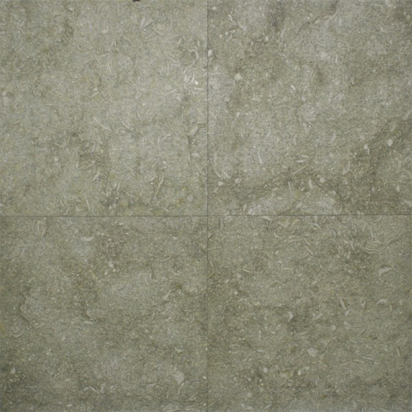 18x18 Seagrass Flamed And Brushed Limestone Tile