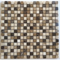 5/8x5/8 Spanish Blend Polished Marble Mosaic