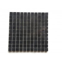 1x1 Black Absolute Polished Mosaic