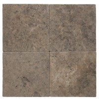 16x16 Tumbled Travertine Paver