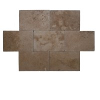 16x24 Noce Tumbled Travertine Paver