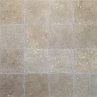 12x12 Seagrass Tumbled Limestone Tile